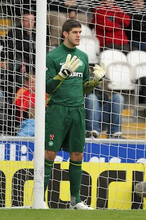 Fraser Forster was under the cosh against Ajax