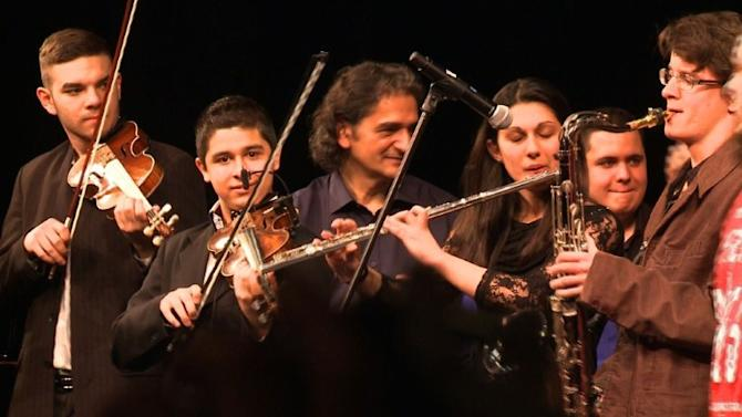 Roma take centre stage at Budapest music school