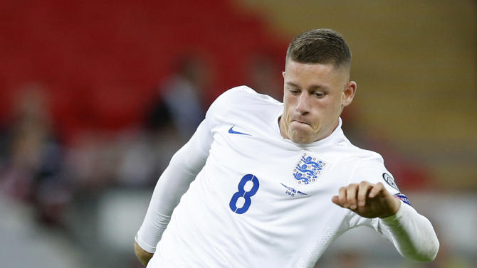 England's Ross Barkley in action