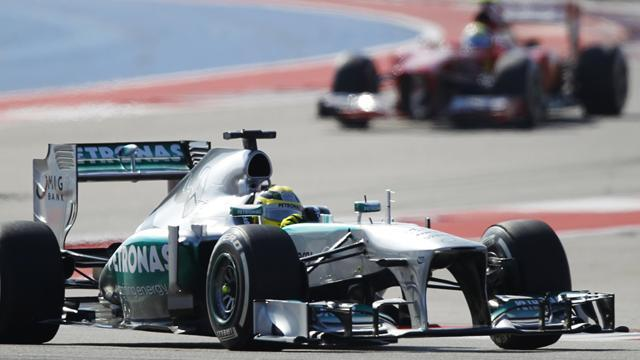 Brazilian Grand Prix - Rosberg leads Mercedes one-two in FP1