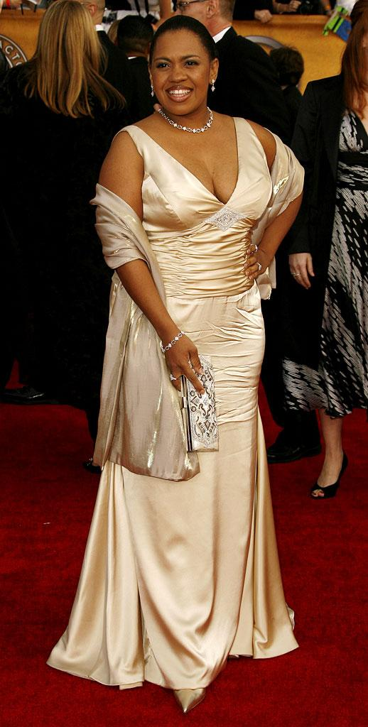 Chandra Wilson at the 13th Annual Screen Actors Guild Awards.