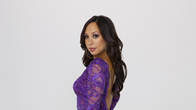 "Cheryl Burke competes on Season 14 of ""Dancing With the Stars."""