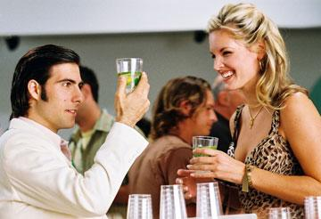 Jason Schwartzman and Bridgette Wilson-Sampras in Touchstone Pictures' Shopgirl