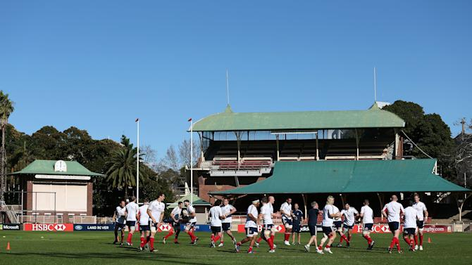 Rugby Union - 2013 British and Irish Lions Tour - British and Irish Lions Training Session - North Sydney Oval