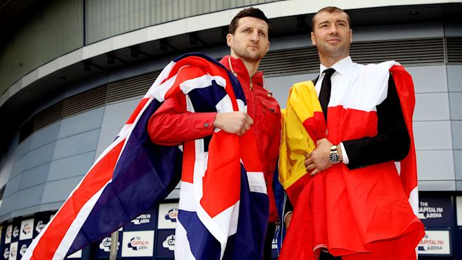 Carl Froch and Lucian Bute Press Conference