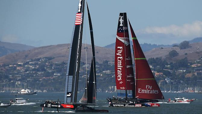 Sailing - New Zealand lose pre-America's Cup regatta but plan to challenge decision