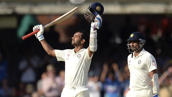 Cricket - Rahane century rescues India at Lord's