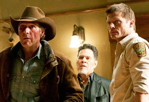 Robert Taylor, A.Martinez and Bailey Chase | Photo Credits: Ursula Coyote/A&E