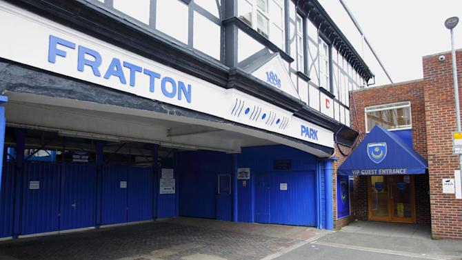 Fratton Park, home of Portsmouth