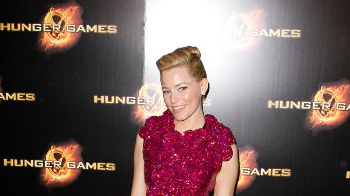 The Hunger Games Paris Premiere Elizabeth Banks