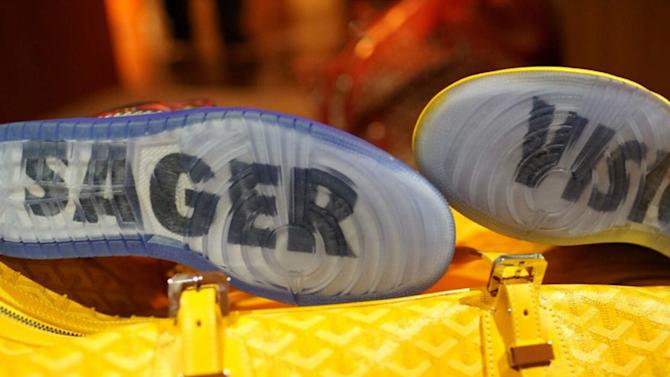 DJ Khaled shares Craig Sager-inspired Air Force 1's