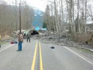Authorities say 18 people are unaccounted for after a massive mudslide in Washington state killed at least three people and forced evacuations because of fears of flooding. (March 23)