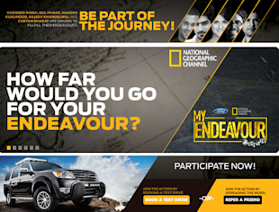 Ford And National Geographic Invite You To Be A Part Of MyEndeavour Alterrain image Ford My Endeavour Facebook