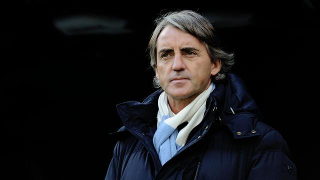Football - Mancini frustrated by wasteful City