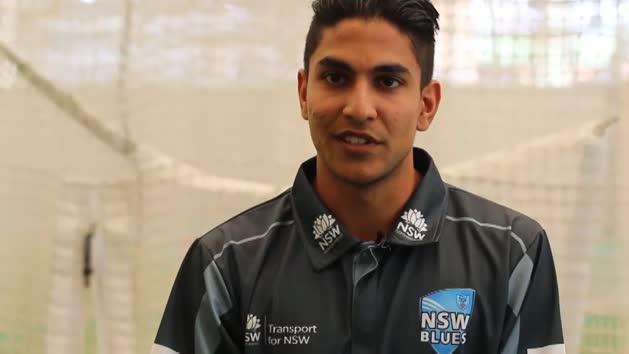 Star pupil Jason Sangha rewrites NSW cricket history