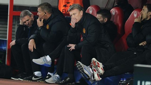 Champions League - 'Really poor' United shock Moyes