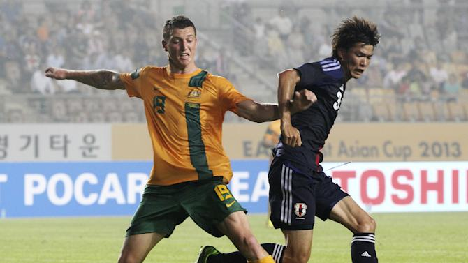 South Korea Australia Japan Soccer East Asian Cup