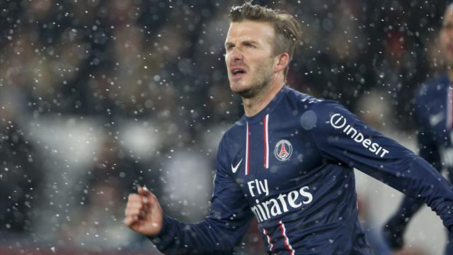 Ligue 1 - Beckham to start for PSG against Marseille