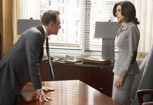 Josh Charles and Julianna Margulies | Photo Credits: David Russell/CBS