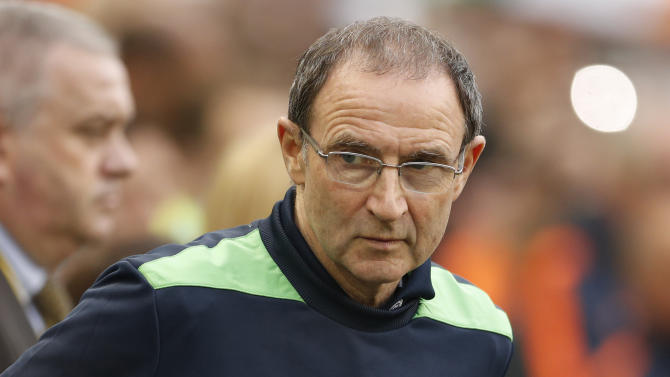 Republic of Ireland manager Martin O'Neill before the game