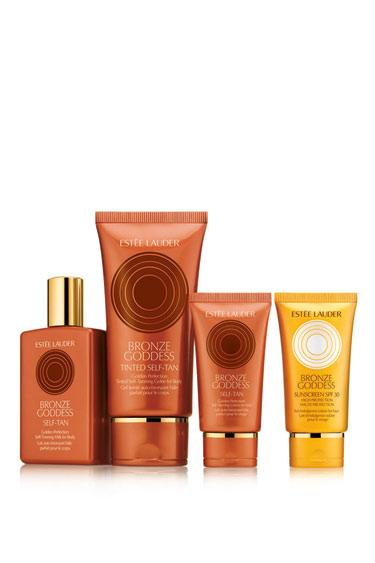 Estee Lauder Bronze Goddess Golden Perfection Tinted Self-Tanning