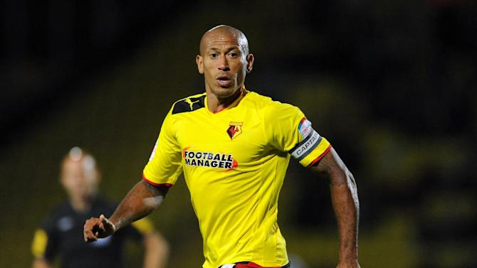 On-loan Watford striker Chris Iwelumo made a big impression on his Notts County debut