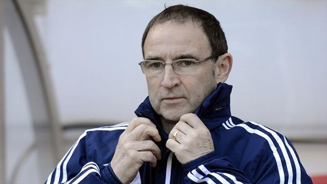 Football - Bookmakers suspend betting on O'Neill taking Ireland job