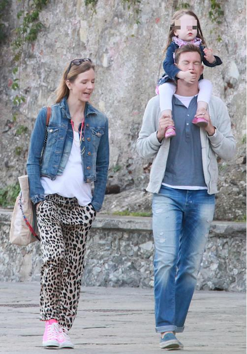 Stephan Lichtsteiner with Wife Manuela Markworth