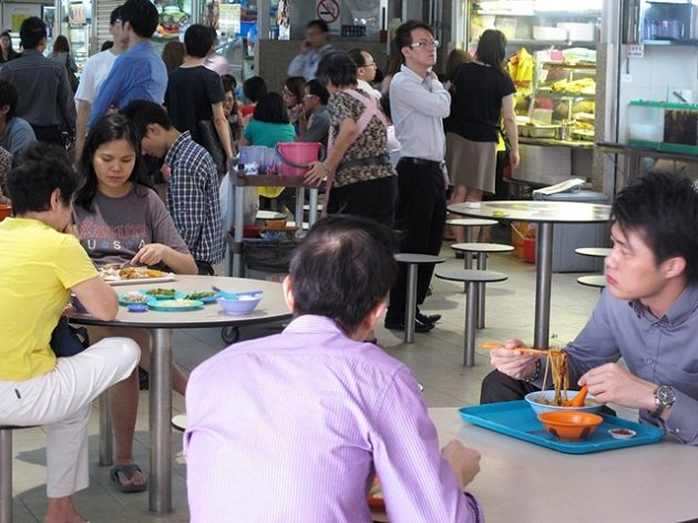 Will you return hawker centre trays?