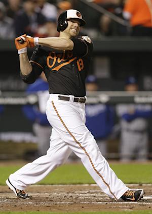 Orioles put slugger Chris Davis on disabled list