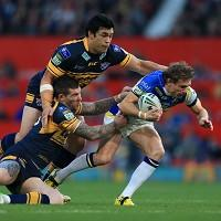 Brett Hodgson, right, is confident Warrington will come back stronger after their Grand Final loss