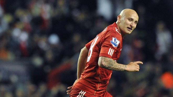 Liverpool's English Midfielder Jonjo Shelvey Celebrates AFP/Getty Images