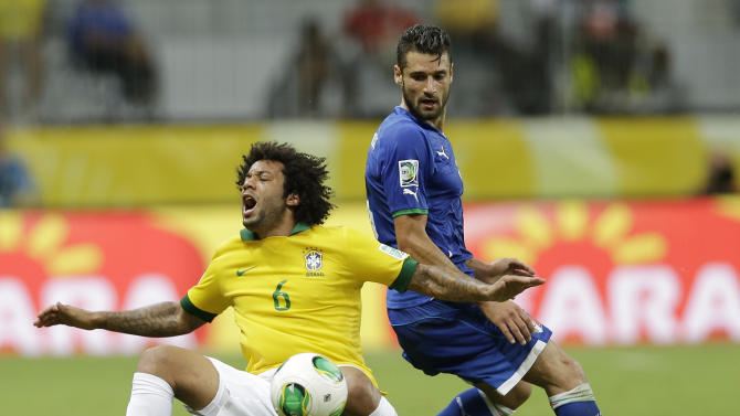 Brazil Soccer Confed Cup Italy Brazil
