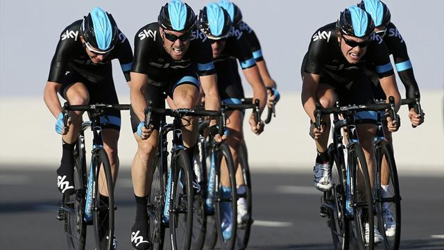 Tour de France - Team Sky prepare for a fight in the Pyrenees