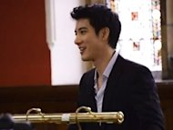 Wang Leehom speaks at Oxford Union