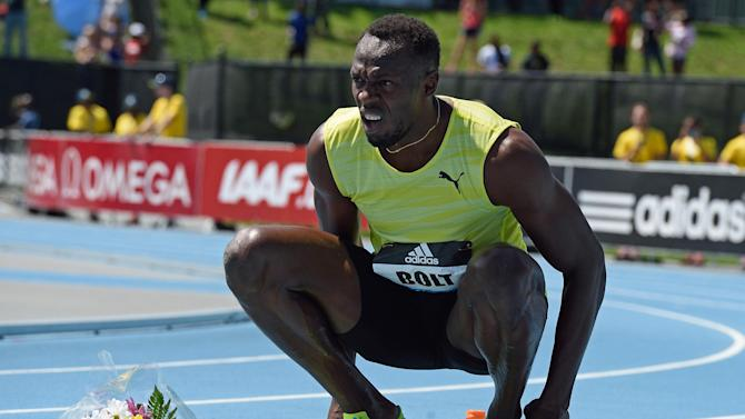 Athletics - Injured Usain Bolt pulls out of Paris, Lausanne