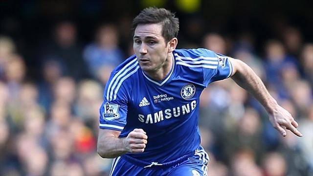 Football - Lampard content with first-leg draw