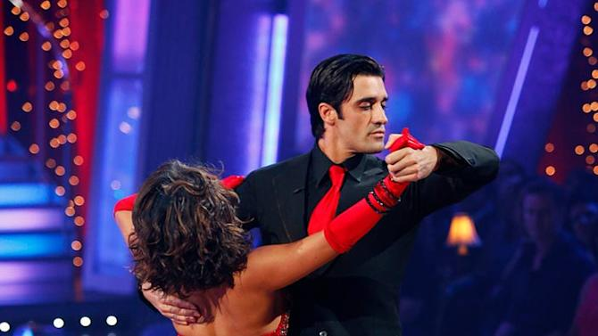 """Gilles Marini and Cheryl Burke perform the Foxtrot to """"Fever"""" by Peggy Lee on """"Dancing with the Stars."""""""