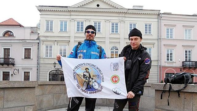 University Sports - Cyclists' epic journey continues