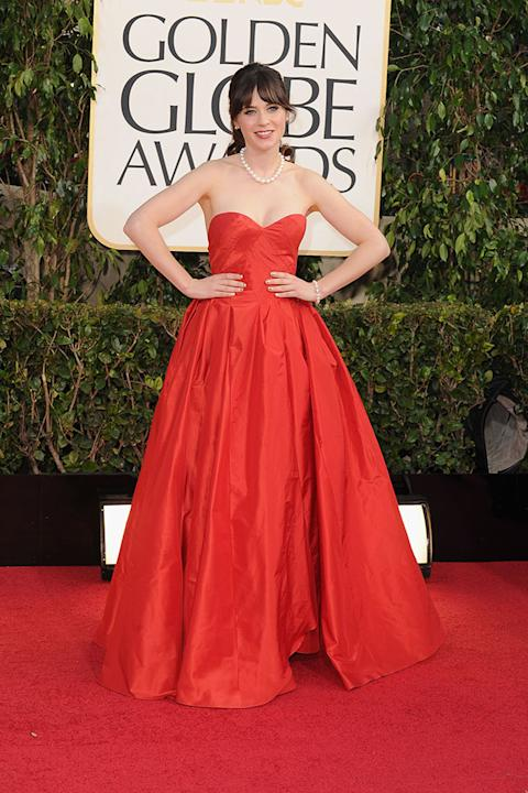 70th Annual Golden Globe Awards - Arrivals: Zooey Deschanel