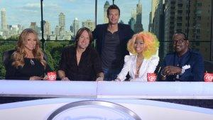 'American Idol': First Official Photo of New Judges Mariah Carey, Nicki Minaj, Keith Urban