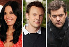 Courteney Cox, Joel McHale, Joshua Jackson | Photo Credits: ABC, NBC, Fox