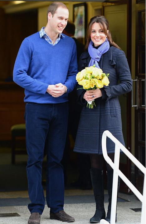 Shocking Celebrity Moments: The world went Royal Baby crazy at the news that Kate Middleton and Prince William are expecting their first child. The hysteria turned to concern when she was admitted to