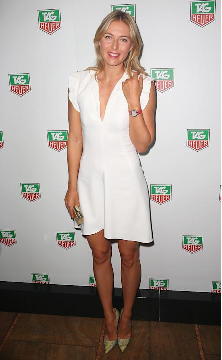 Maria Sharapova Attends TAG Heuer Party