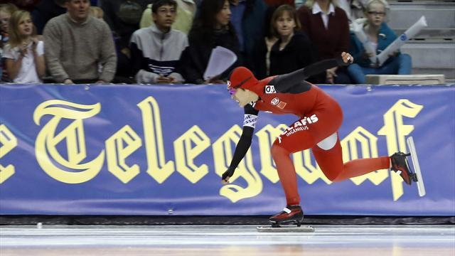 Speed Skating - Yu claims win in Utah