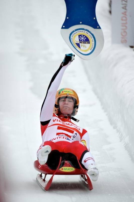 Austria's  Nina Reithmayer Hits AFP/Getty Images