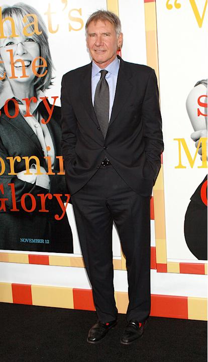 Morning Glory NY premiere 2010 Harrison Ford