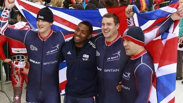 Bobsleigh - Fifth-place finish a reason to cheer for Jackson and co
