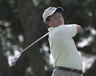 "Asian Tour executive chairman Kyi Hla Han at the World Golf American Express Championship in 2000. ""People don't realise how popular golf is in Myanmar. They don't know that we already have such a strong golf culture,"" Han told AFP"