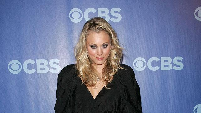 """Kaley Cuoco (""""Big Bang Theory"""") attends the 2010 CBS Upfront at The Tent at Lincoln Center on May 19, 2010 in New York City."""